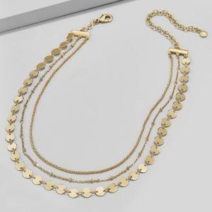 | lovely layers choker necklace |